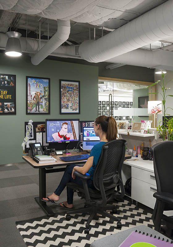 Hulu Office Design 10 Tech Workplace Design Pinterest