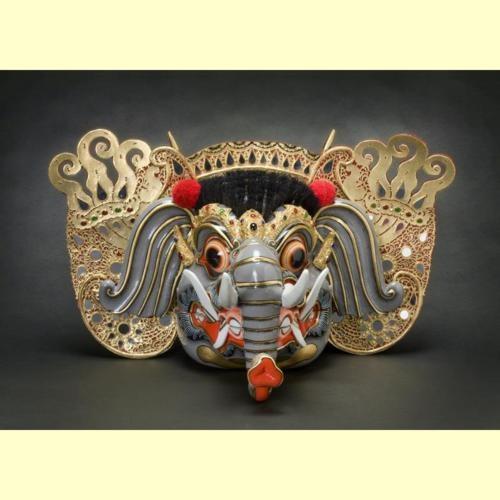 Barong Gajah Mask via The Museum of Asian Art