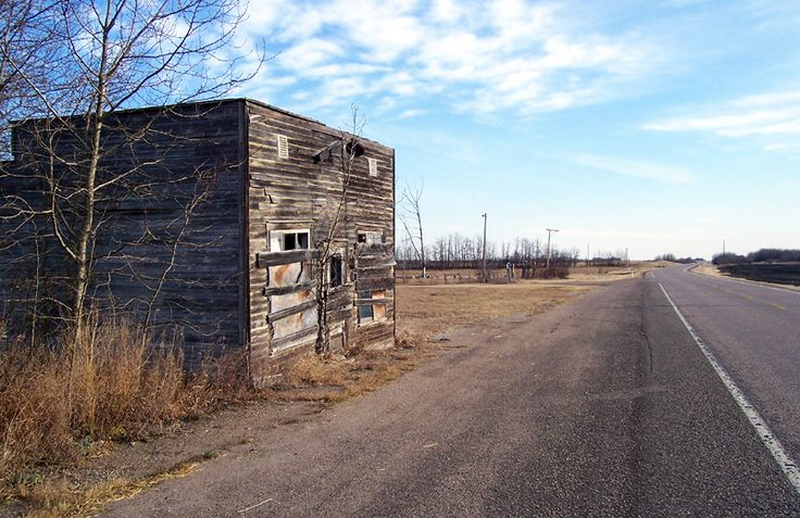 The remains of Whitford, a ghost town along Hwy. 45