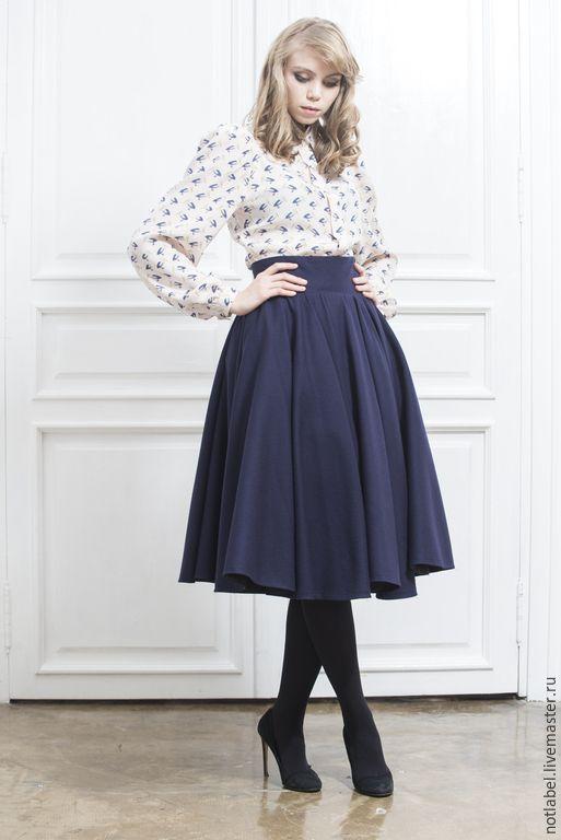 Длинная пышная юбка шьем