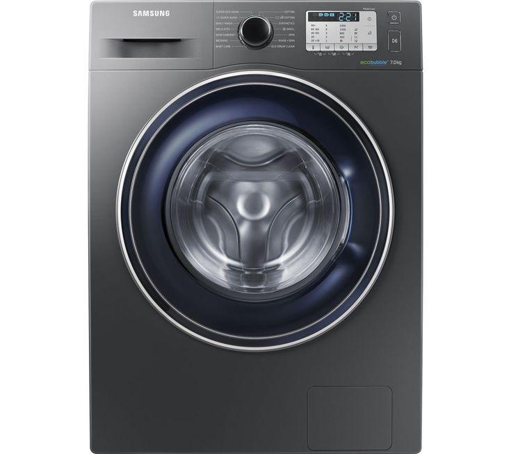 SAMSUNG WW70J5555FC/EU 7 kg 1400 Spin Washing Machine - Graphite