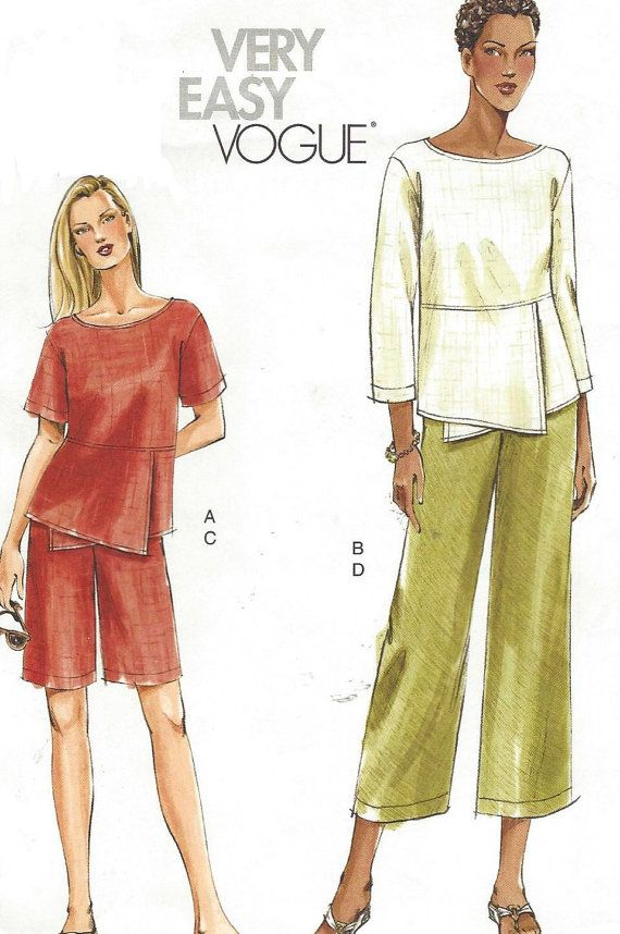 OOP Very Easy Vogue Sewing Pattern V7883 Womens Top by CloesCloset