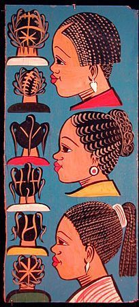 American and African Hair Braiding : barber shop signs. BelAfrique - your personal travel planner - www.BelAfrique.co #African #American #barber #Bel