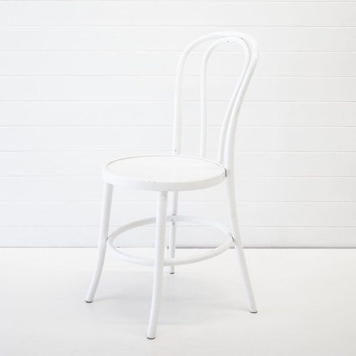 White Bentwood Chair Hire | Hampton Event Hire - www.hamptoneventhire.com | Servicing Brisbane, Gold Coast and Byron Bay