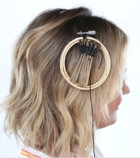 HOW-TO: MANE ADDICTS X POP SUGAR WOVEN HAIR TAPESTRY