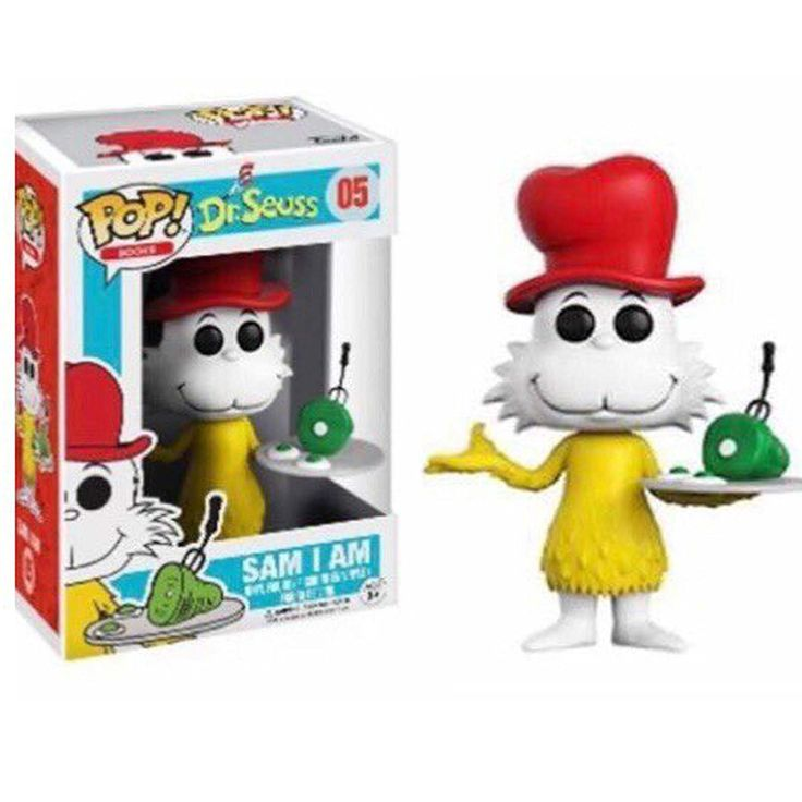 Funko POP Books: Dr. Seuss Sam I Am Toy Figure