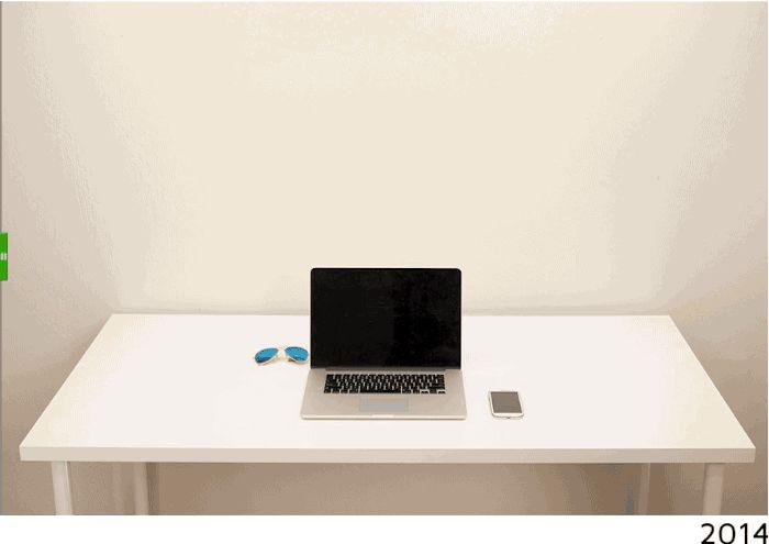 La evolución del escritorio 1980 - 2014