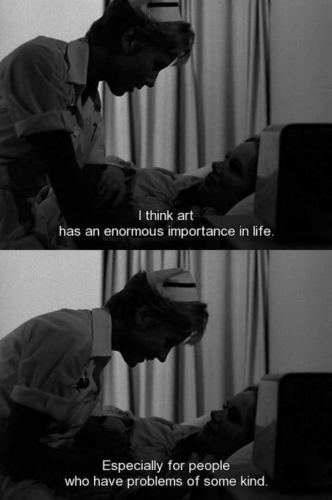 ingmarbergmanandwoodyallen:  Persona (1966)