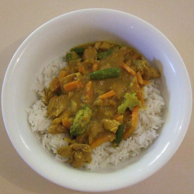 Recipe Easy Mango Chicken Curry by Amanda Ferguson - Recipe of category Main dishes - meat