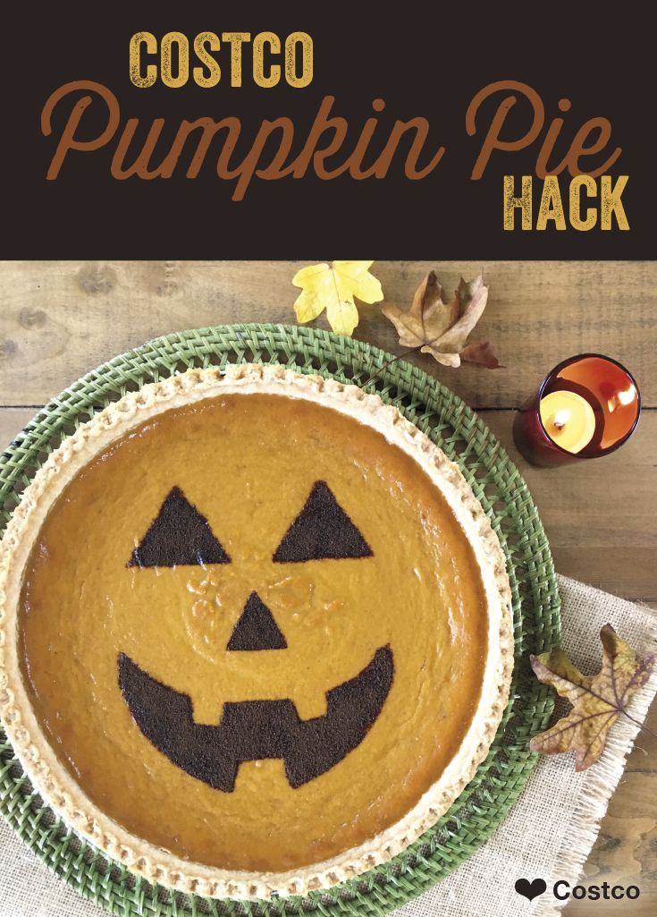 Add A Little Personality To Your  Costco Pumpkin Pie