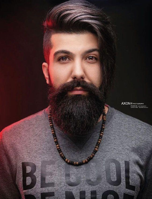 Pin En Corte Barba