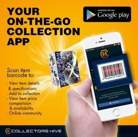 Collectors Hive item scanner app
