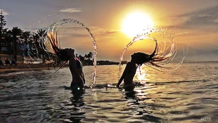 #идеидляфото #пляж #фотонапляже #закат