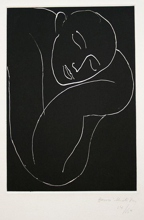 Henri Matisse - Fauvisme - Homme endormi