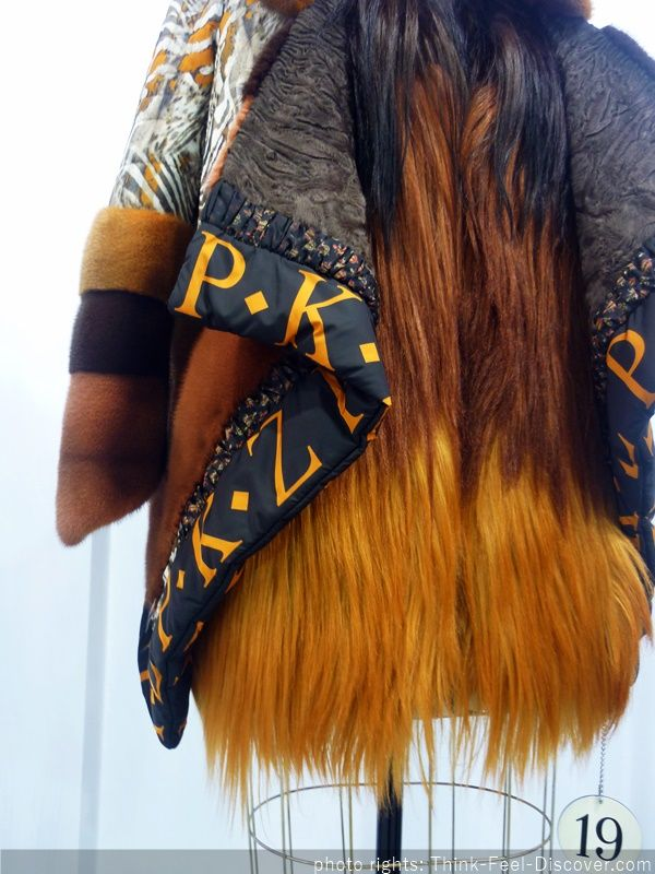 PKZ Furs Kastoria International Fur Fair AW16/17 BACKSTAGE Fashion by Think-feel-Discover.com