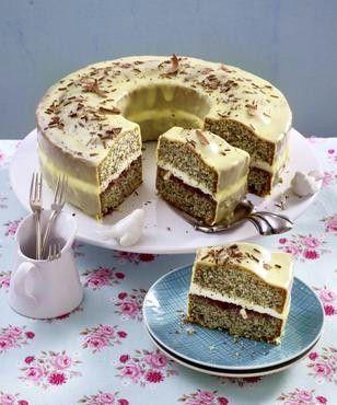 Das Rezept für Mohnkuchen mit weißer Schokolade und weitere kostenlose Rezepte auf LECKER.de