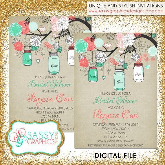 Best 25+ Rustic bridal shower invitations ideas on Pinterest - printable bridal shower invites