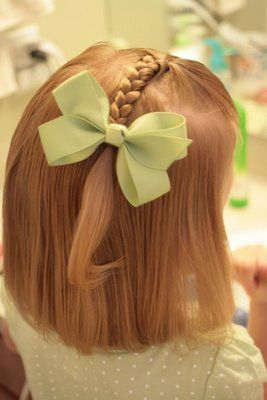 She does hair website-brillant!!! Great photos and instructions for little girls' hairstyles