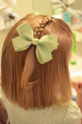 little girl hairstyles...