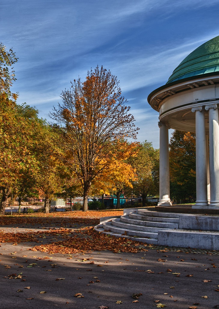 Bandstand Clifton Park #Rotherham