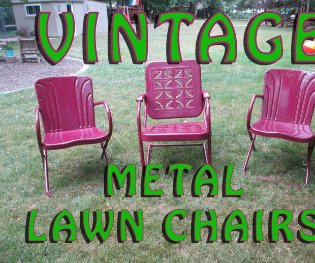 Best 25 Metal lawn chairs ideas on Pinterest  Old metal