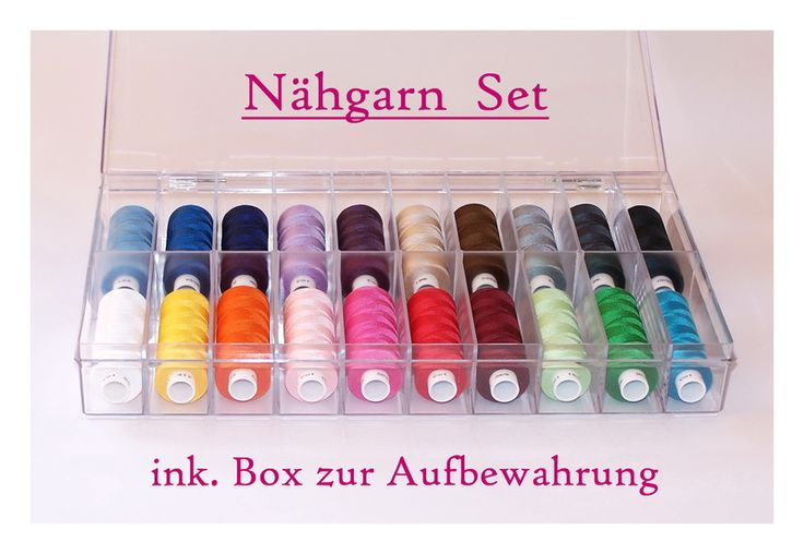 Nähgarn+Set+Gütermann+Toldi+500++incl.+Box+++++++++von+Zauberhaftes+Material+auf+DaWanda.com