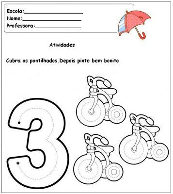 Atividades para pré-escolar - 14                              …