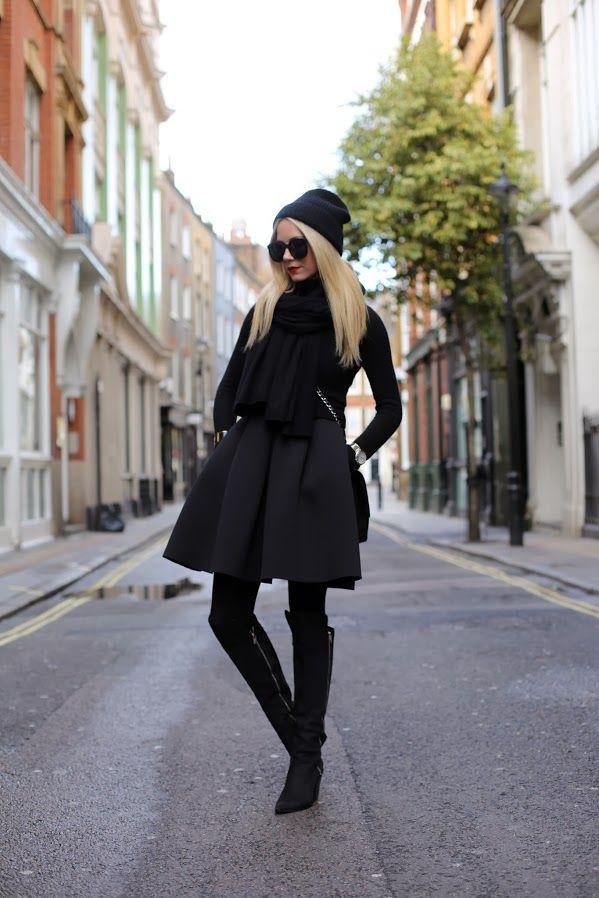 fashion, style, black,
