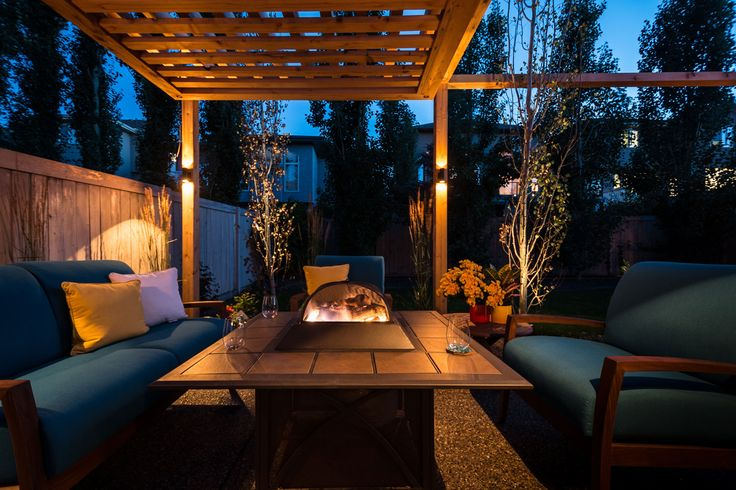 Custom landscaping for client backyard. Calgary landscape design Guys Hill Landscaping, YYC
