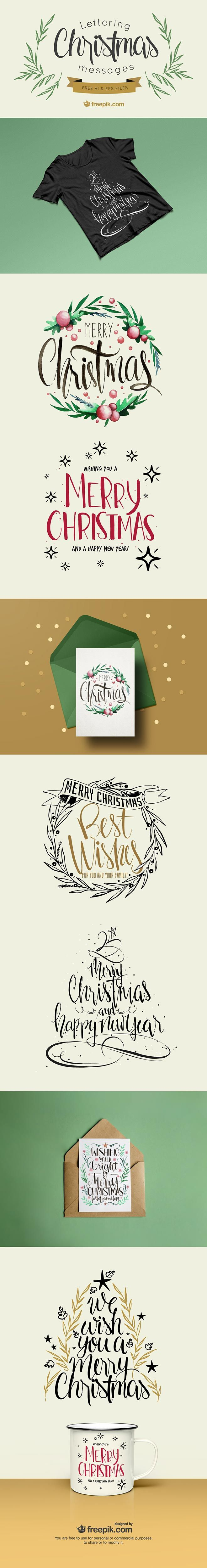 Access All Areas members have a wonderful collection of vector Christmas lettering messages to download this week, courtesy of Freepik. Each one of these 6 type pieces contains a festive message, accompanied with vector elements and graphics. Use them to quickly create Christmas greetings as part of promotional design material during the run up to …