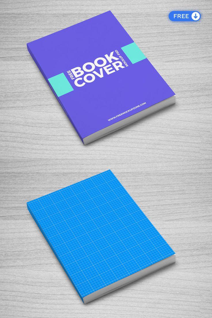 Flexible Book Cover Free Psd Mockup Mockup Free Psd Free Mockup Book Cover