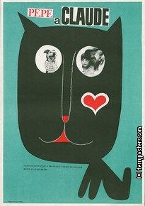 Authors: Vaca, Karel   Origin of film: France   Year of poster origin: 1968   Director: Claude Be