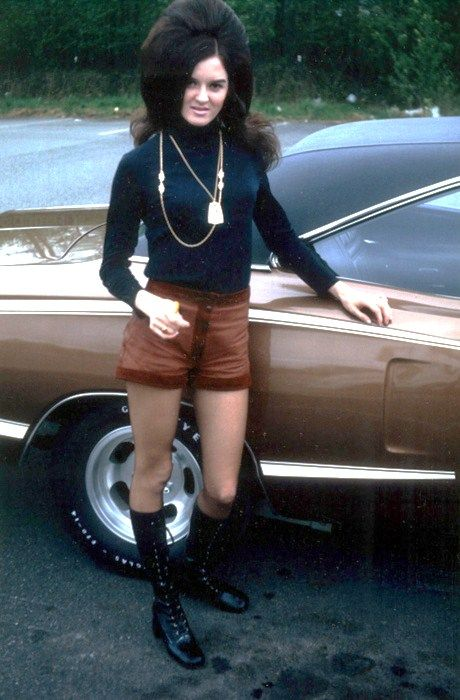 When big hair roamed the earth whit hot pants and boots. 1960s