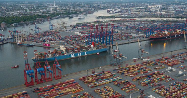 The Port of Hamburg reported an increase of 1.7 percent in its total throughput at 35.4 million tonnes in the first quarter of 2017.