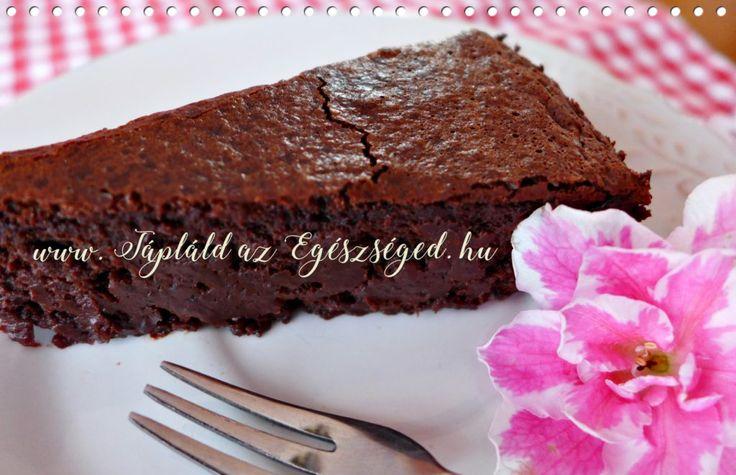 Mennyei Csokoládétorta - Gabonamentes, tejmentes