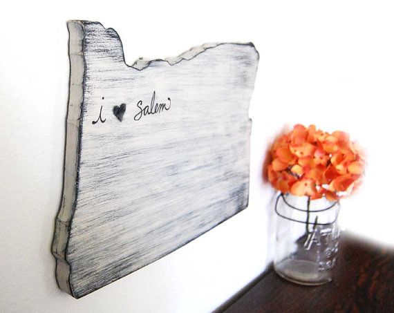 Salem Oregon Fretwork Heart Wood Cottage Decor Shabby