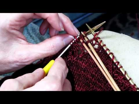 Fixing a Mistake in Lace Knitting.MOV - YouTube