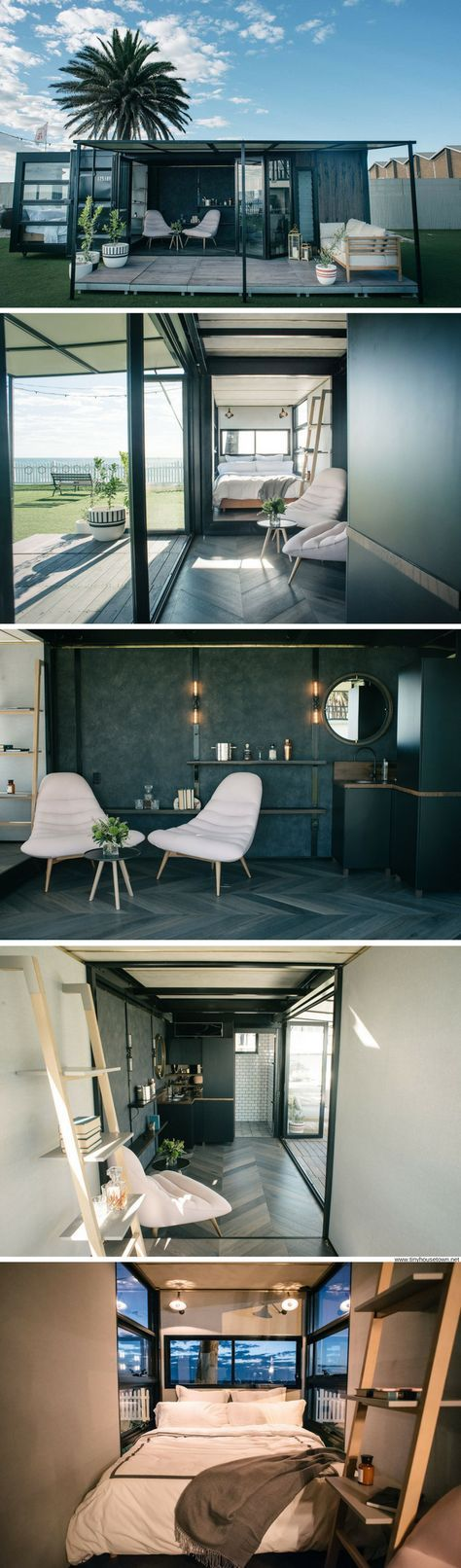 A luxury shipping container home from Australia