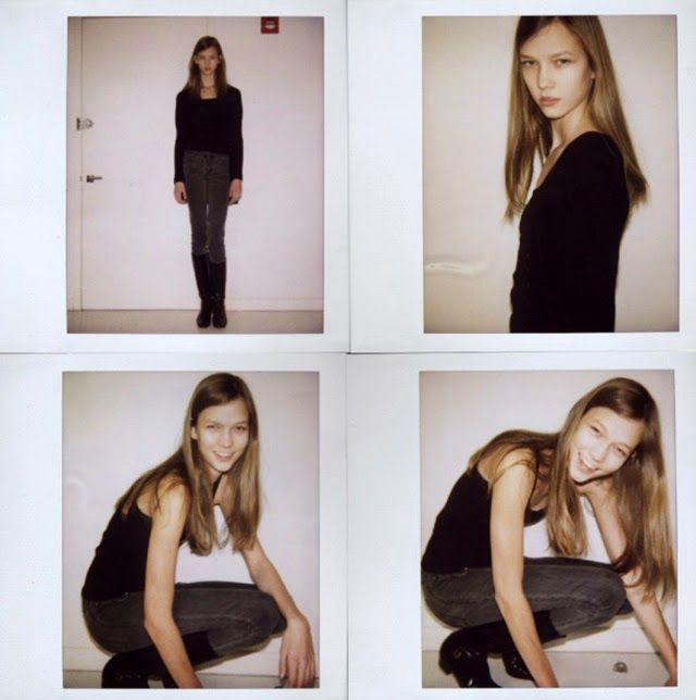 model polaroids before they were supermodels (karlie kloss)