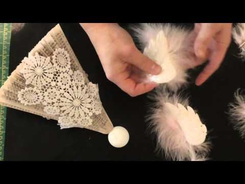Book fold Christmas angel pattern full tutorial                                                                                                                                                      More
