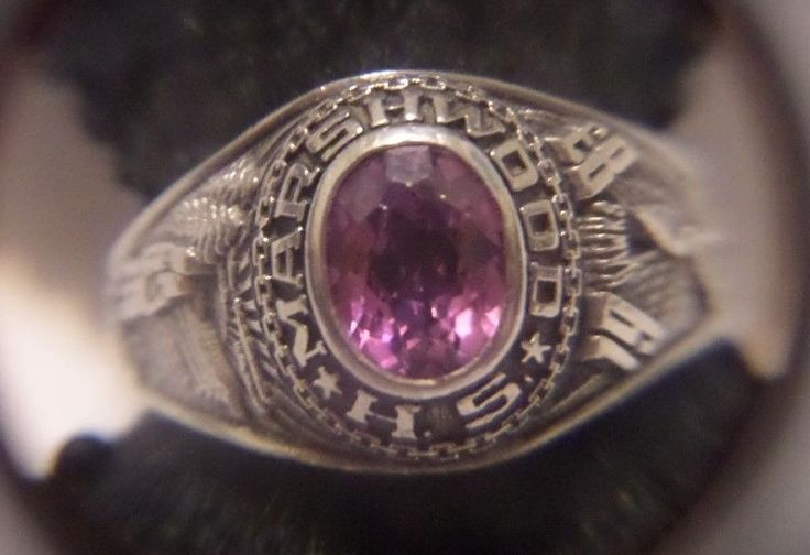 1983 marshwood high school ring size 7 12 signed balfour