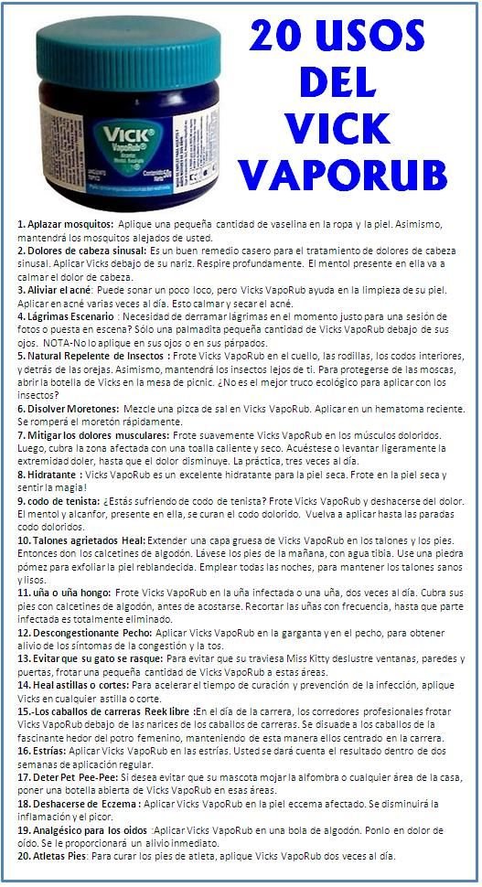 20 usos del Vick Vaporub https://www.facebook.com/FenghShuiTradicionalMexico #compartirvideos #consejosdelhogar #trucoshogar #compartirvideos #consejosdelhogar #trucoshogar