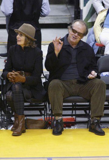 Diane Keaton Celebrity Shoe Style