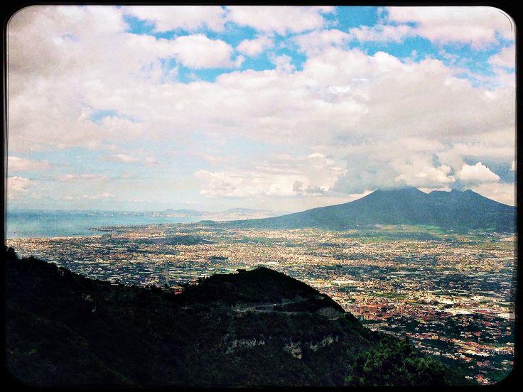 Valico di Chiunzi, Campania region - Italy