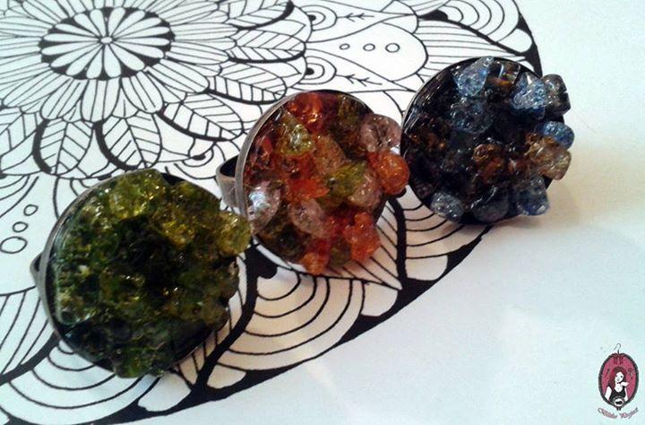 Gemstone-like rings   https://www.facebook.com/blitheproject/  http://www.blitheproject.hu/