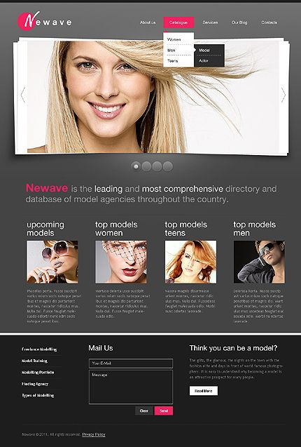 New Wave WordPress Themes by Delta