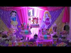 15 Ideas Para Decorar con las Princesas de Disney - YouTube