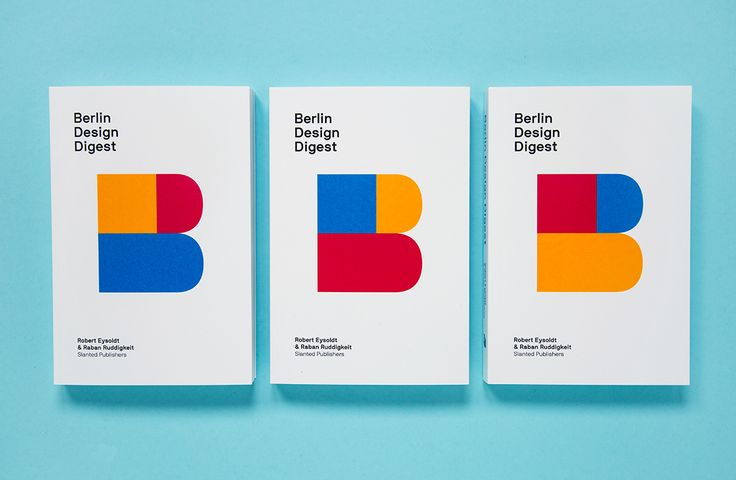 Berlin Design Digest #Graphic #Editorial #Print #Design by Slanted Publishers