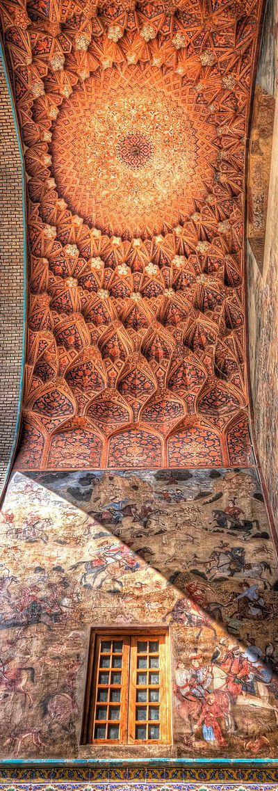 Grand Bazaar of Isfahan ( Hand painted building dating back to 1600) | Iran