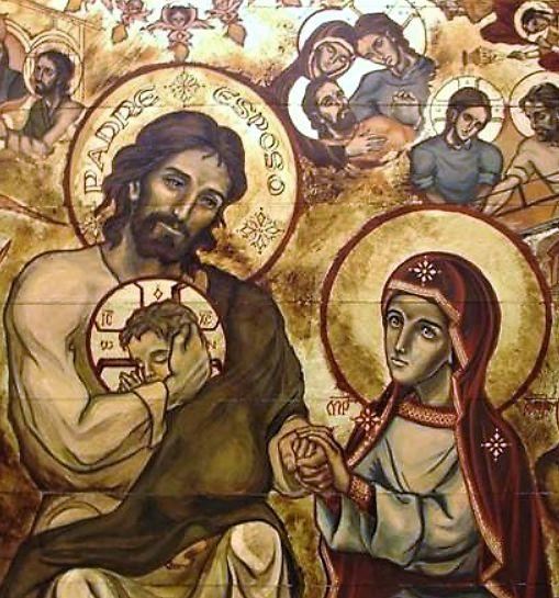 Saint Joseph, Jésus et Marie